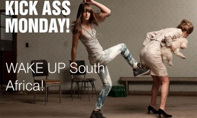Kick Ass Monday- Ass Kicking Monday – WAKE UP SOUTH AFRICA