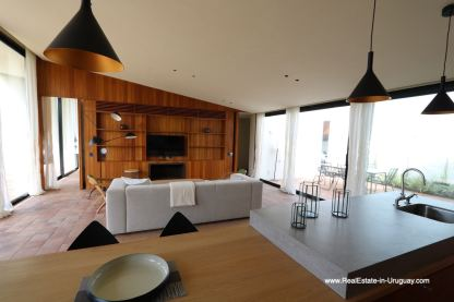 Living Area of Harmonious and Unique Lifestyle by the Ocean in Las Carcavas
