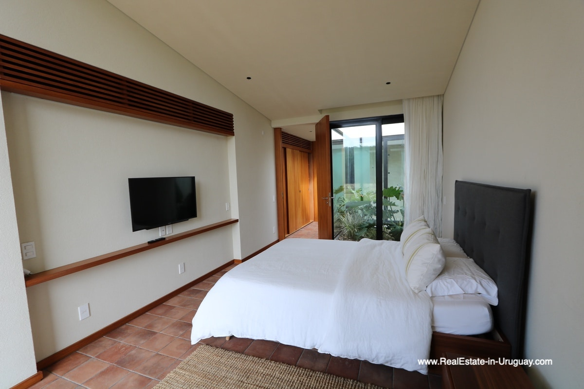 Master Bedroom of Harmonious and Unique Lifestyle by the Ocean in Las Carcavas