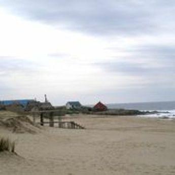 Beach in Rocha, Uruguay