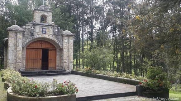 Church Hacienda Amaguana Valle de los Chillos, Ecuador