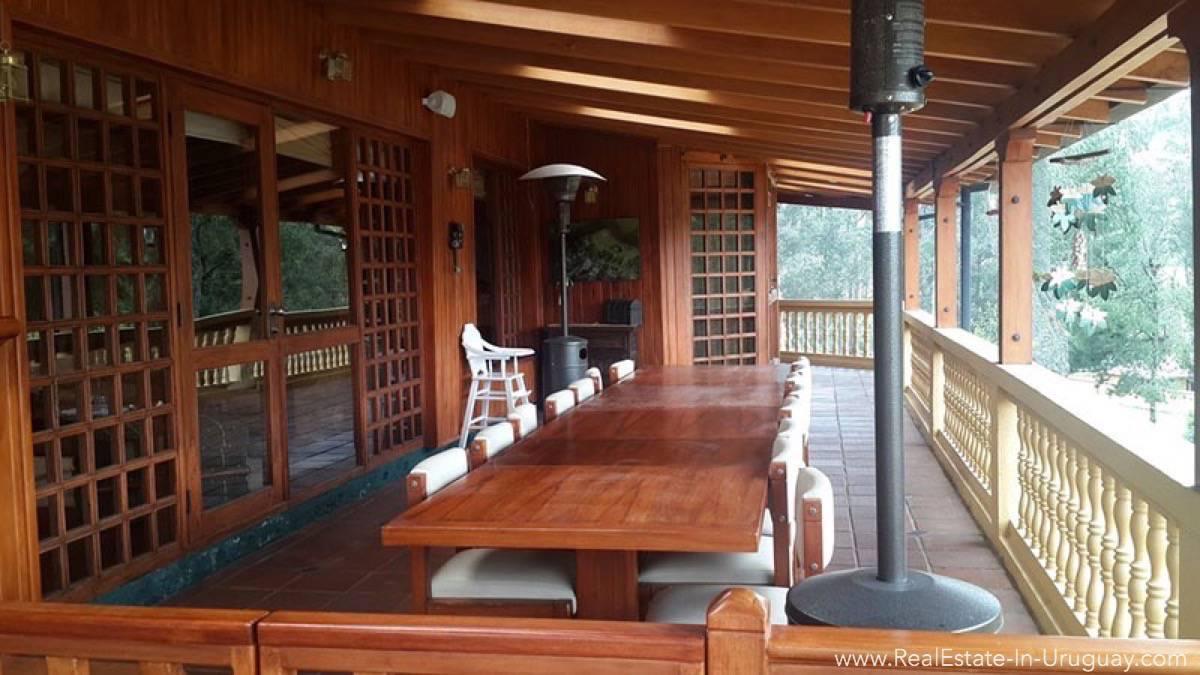 Terrace Hacienda Amaguana Valle de los Chillos, Ecuador