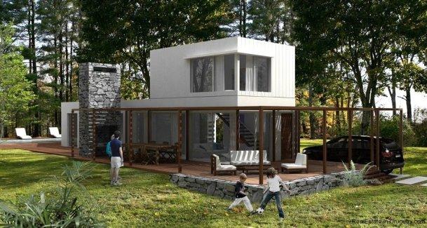 1396-Terrace-of-Modern-2-Story-House-Carrasco-Montevideo