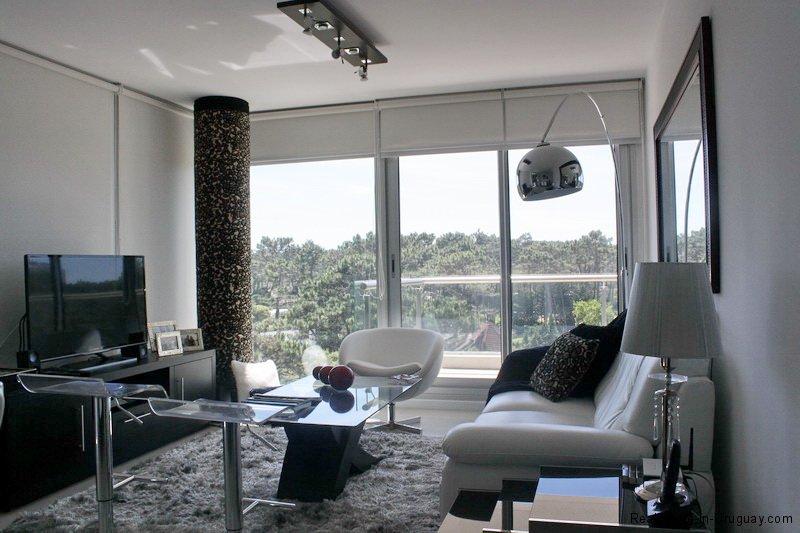 Living Room of Modern Apartment on La Brava