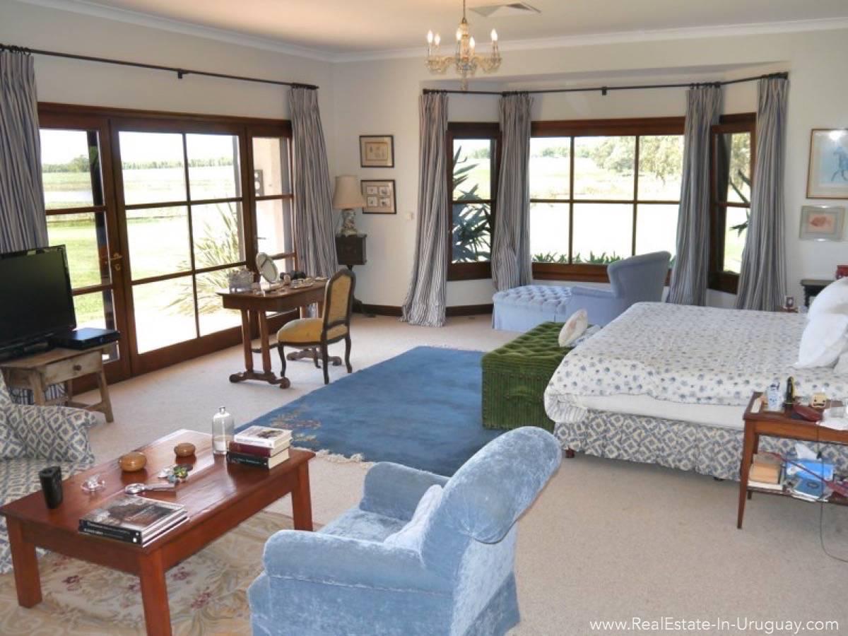 Estancia on 397HA Land Master Bedroom
