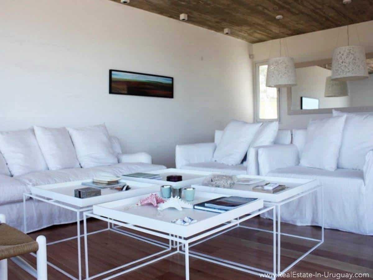 Beach House in Jose Ignacio Living Room