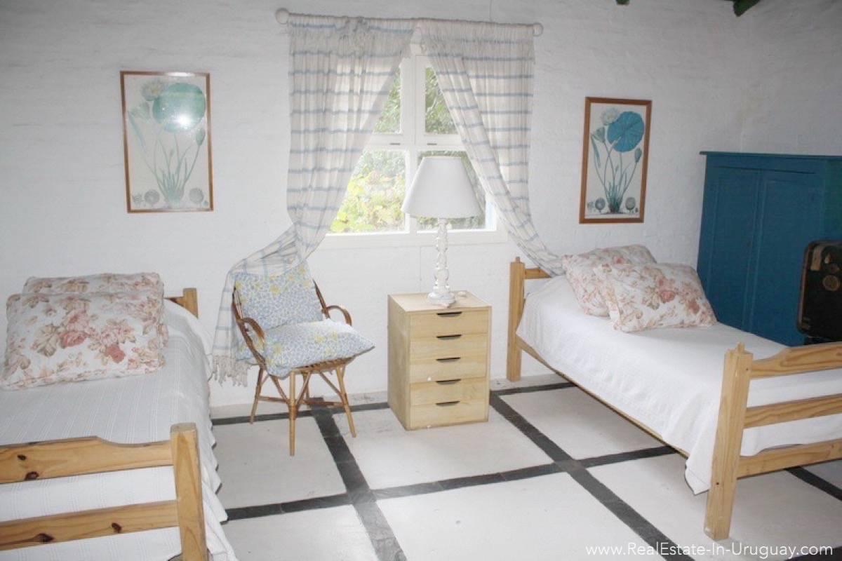 Romantic House in La Bara Bedroom4