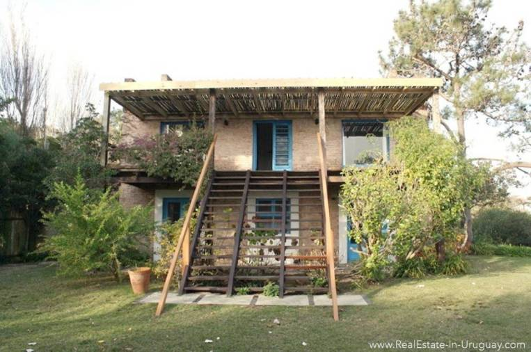 Romantic House in La Bara House Back Side