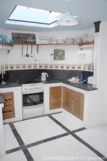 Romantic House in La Bara Kitchen