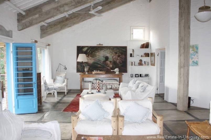 Romantic House in La Bara Living Room2