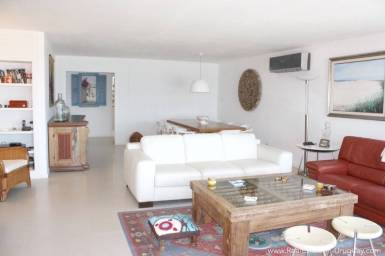 Ocean Front Apartment - Living Room2