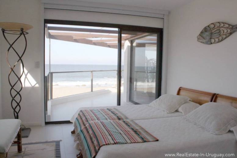 Ocean Front Apartment - Master Bedroom