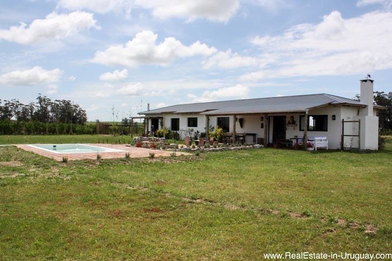 New chacra on 5 hectares on ruta 104 behind manantiales
