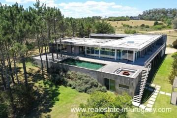 Modern Home in Top Location by Jose Ignacio built with Architect Martin Gomez