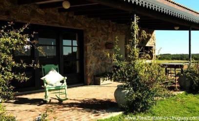 4614 Wonderful Estancia at Laguna Anastasio in Jose Ignacio - Outside Terrace