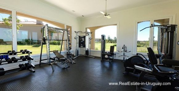 5935 15 Quality Tuscon Style Home in Natural Surroundings near Manantiales - Gym