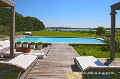 Lagoon Property with three Buildings near Punta Ballena