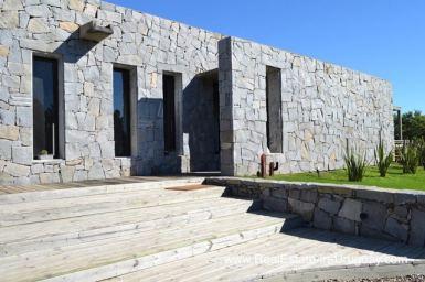 Stone House in Gated Community outside La Barra