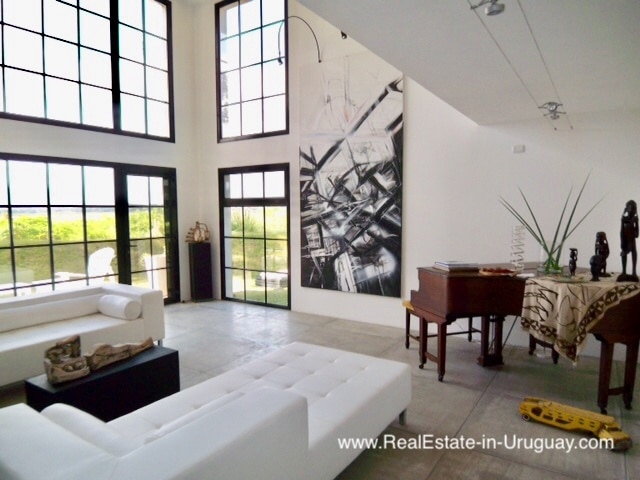 Two Storey Modern Loft Style Home by Laguna del Diario near Punta Ballena