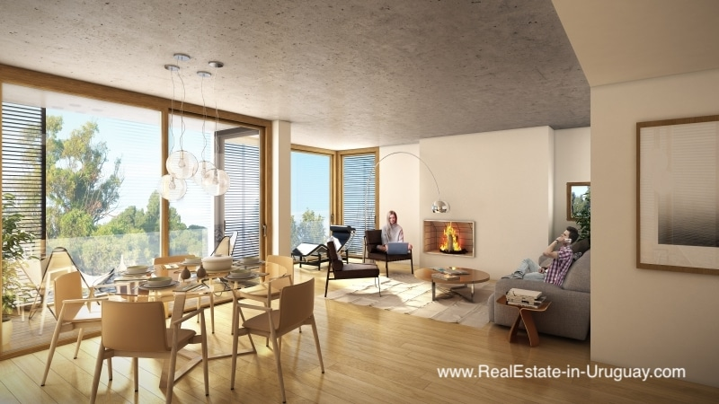 New Different and Luxurious Apartments by Lagos de Carrasco in the area of Parque Miramar in Montevideo