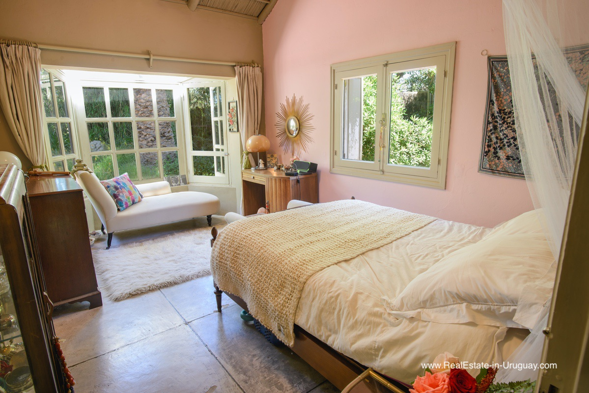 Historic Old Chapel Transformed into a Mastersuite of Charming Home in La Barra