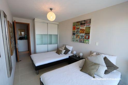 Guestroom of Bright Modern Apartment with Sea Views in Punta del Este