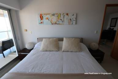 Master Bedroom2 of Bright Modern Apartment with Sea Views in Punta del Este