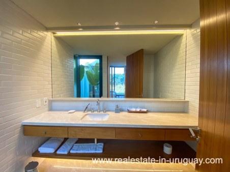 Guest bathroom of Las Carcavas