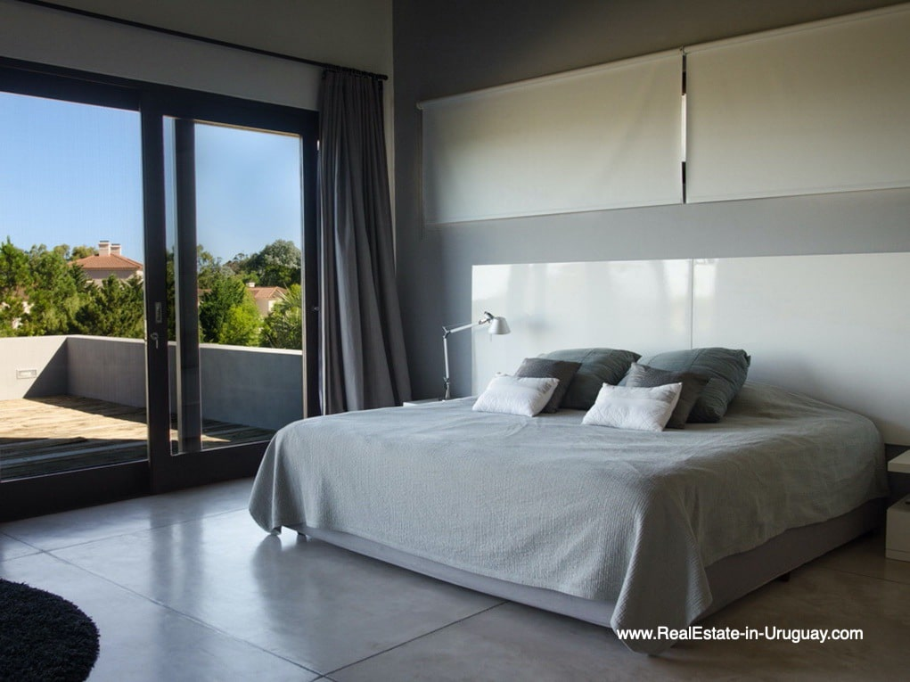 Master Bedroom of Property in La Morada near the Beach Town Manantiales