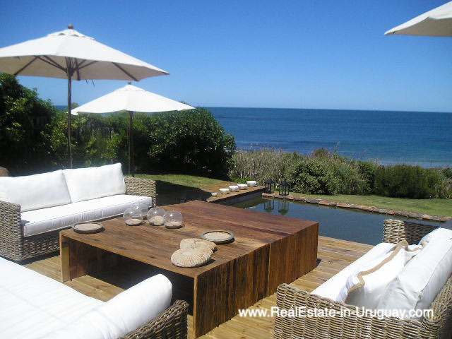 Frontline Beach Home in Jose Ignacio