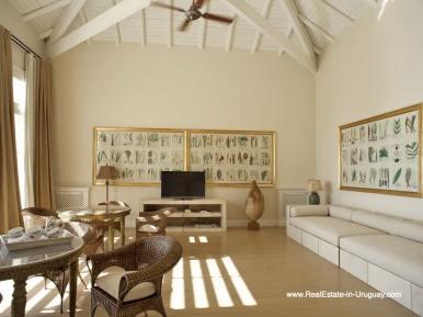 Office of Luxury Country Ranch by Golf Course La Barra outside Punta del Este
