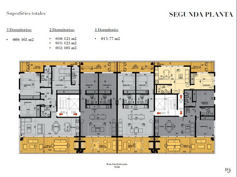 Plan 4 of New Apartment Project Alma de Manantiales by Architect Martin Gomez in Manantiales