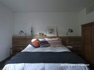 Master Bedroom of Modern Bungalow in La Juanita at the Entrance of Jose Ignacio near Casagrande