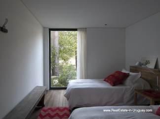 Guest Bedroom of Modern Bungalow in La Juanita at the Entrance of Jose Ignacio near Casagrande