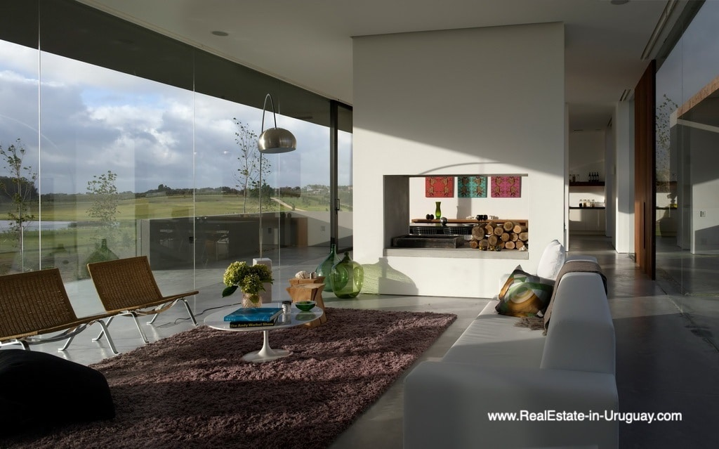Living Area of Modern Home in Gated Community Villalagos outside Manantiales