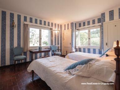 Bedroom 3 Magnificent House in El Golf in Punta del Este