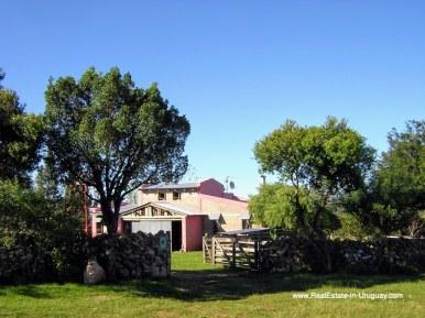 Entrance of Farm House in the Pueblo Eden Area