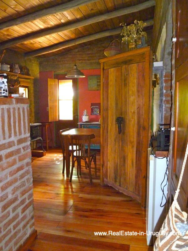 Hall of Farm House in the Pueblo Eden Area