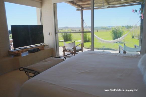 6500 Country House in Jose Ignacio with Lagoon Views - Master Bedroom2