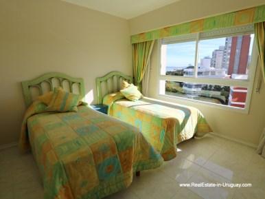 Guest Bedroom of Apartment on the Mansa Beach in Punta del Este