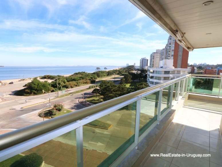Sea Views of Apartment on the Mansa Beach in Punta del Este