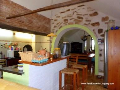 Historic Renovated Kitchen of Farm House by Pueblo Eden