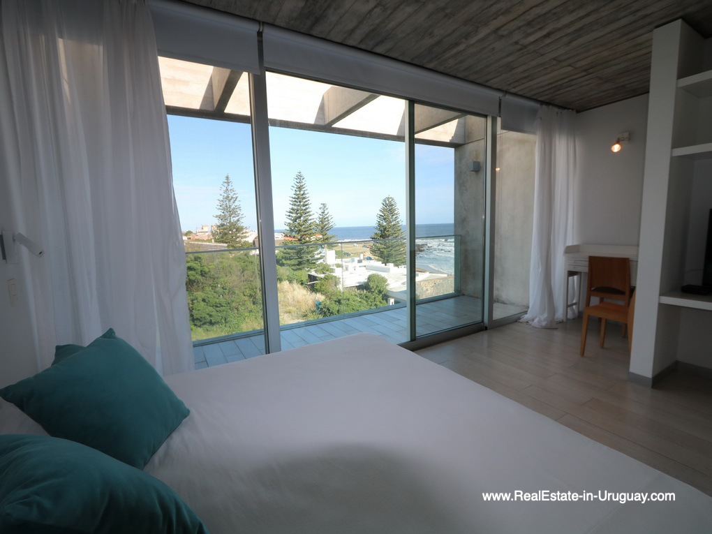 Master Bedroom of Beach Townhouse in La Barra by the Ocean