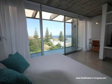 Master Bedroom of Beach Townhouse in La Barra by the Ocean