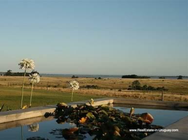 Pool of Large Estate near Jose Ignacio with 70 Hectares Land
