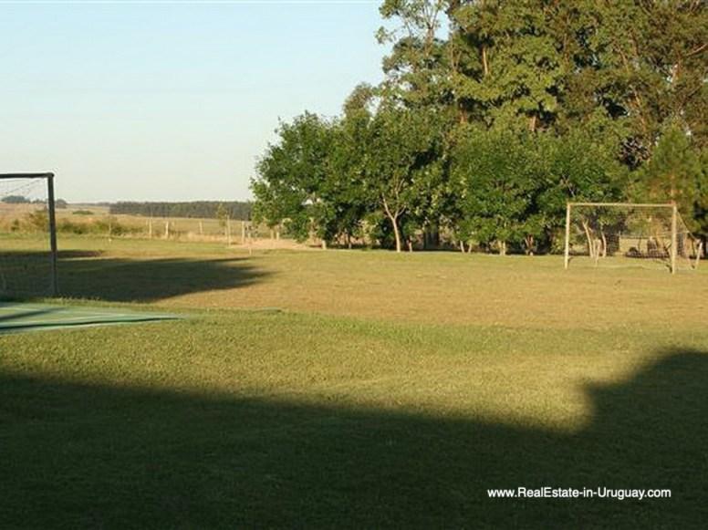 Sportscourt of Large Estate near Jose Ignacio with 70 Hectares Land