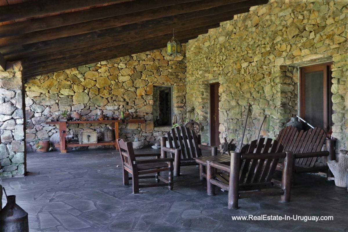 Terrace of 97 Hectares Farm near Pueblo Eden