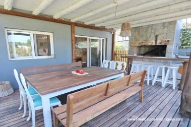 BBQ of Modern Home in the Montoya Area by La Barra