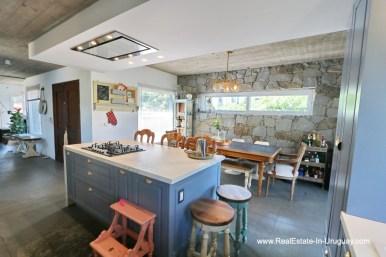 Kitchen of Modern Home in the Montoya Area by La Barra