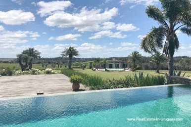 Golfcourse of Incredible Large Estate behind La Barra and near the Golf Course